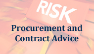Procurement and Contracting Advice